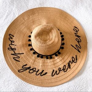 Altar'd State Wish You Were Here Beach Hat